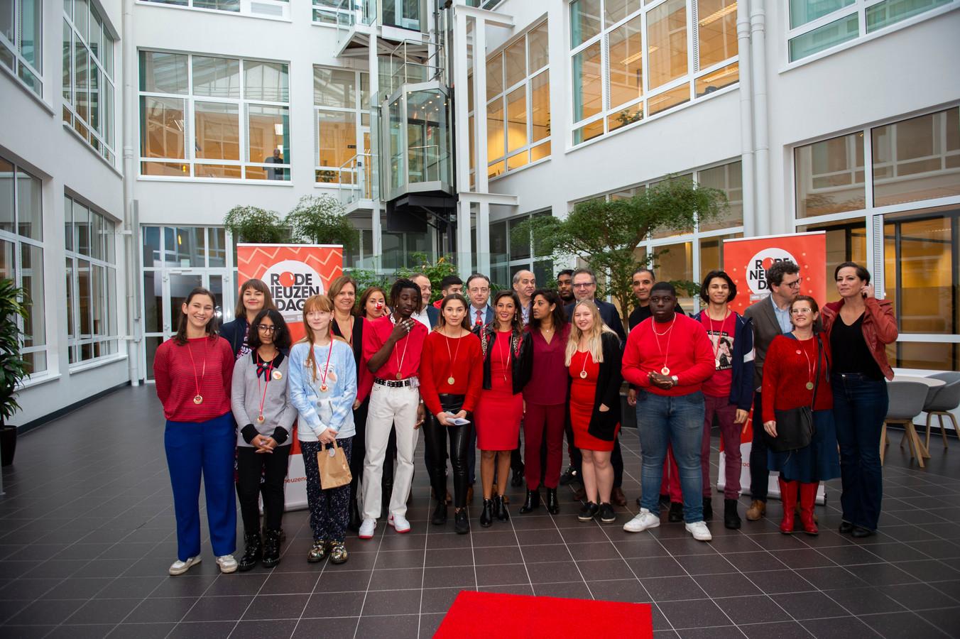 Het schepencollege ontving een delegatie van het Stedelijk Lyceum Cadix