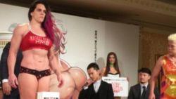 """MMA-vechtster (32) mikpunt van spot op social media na deze """"afgang"""" tijdens weging"""