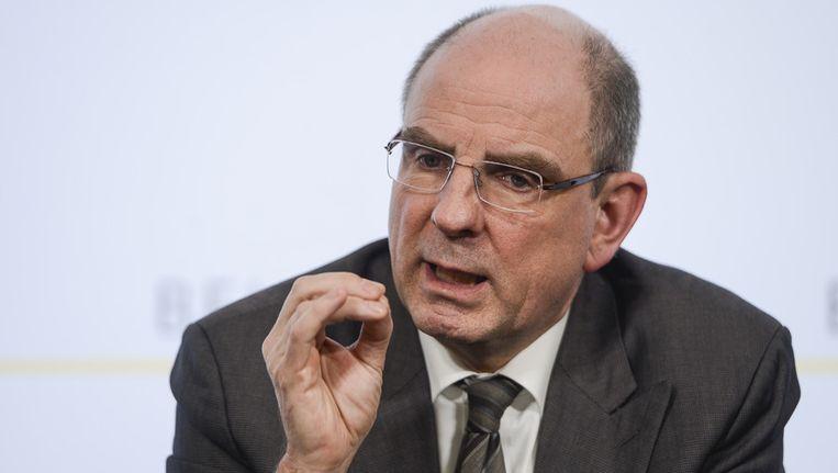 Minister van Financiën Koen Geens voert de Kamerlijst in Vlaams-Brabant aan.