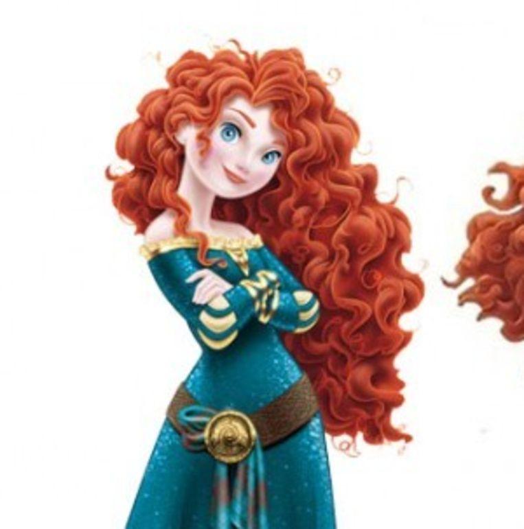Merida na de make-over Beeld Pixar/ Disney