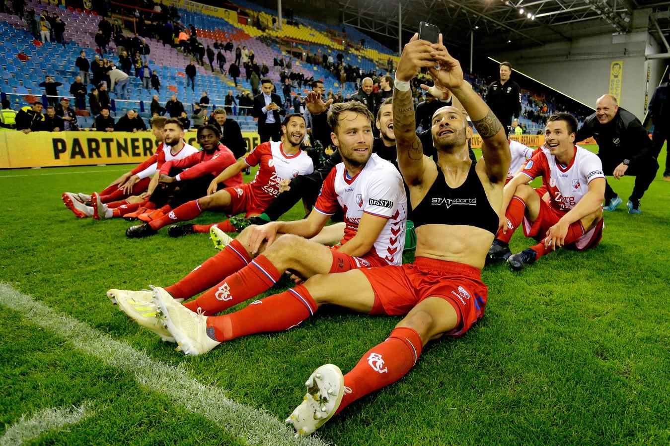 FC Utrecht in mei 2019.
