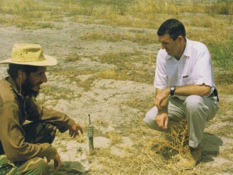 Zij die de landmijnen leggen, zijn volgens Mansfield jammer genoeg listig.