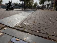 Veel klachten over trottoirs in Son: natuursteen is te glad
