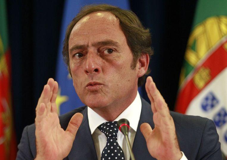 Vice-premier Paulo Portas van de Partido Popular. Beeld afp