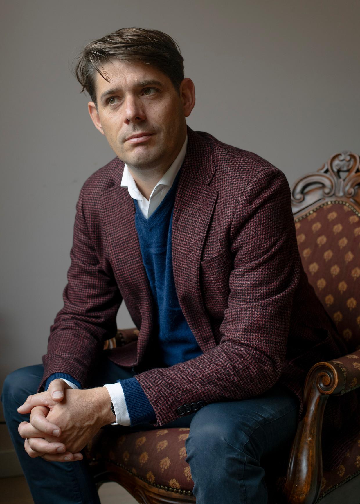 Arjan Vliegenthart: 'De stapjes waarmee iets gedaan wordt aan de woningmarkt zijn heel klein.' Beeld Lin Woldendorp