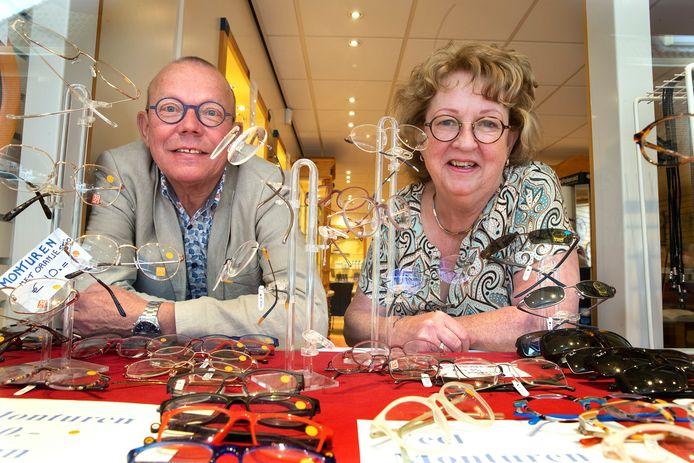 André en Femmy Köhler in hun winkel