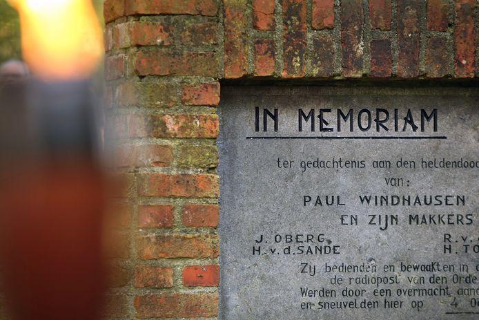 Herdenking van de Vloeiweide.