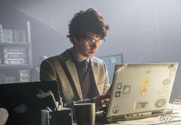 Ben Whishaw als Q. De 'Quartermaster' van de geheime dienst wordt sinds 'Skyfall' gespeeld door een acteur die een stuk jonger is dan Bond. Beeld rv