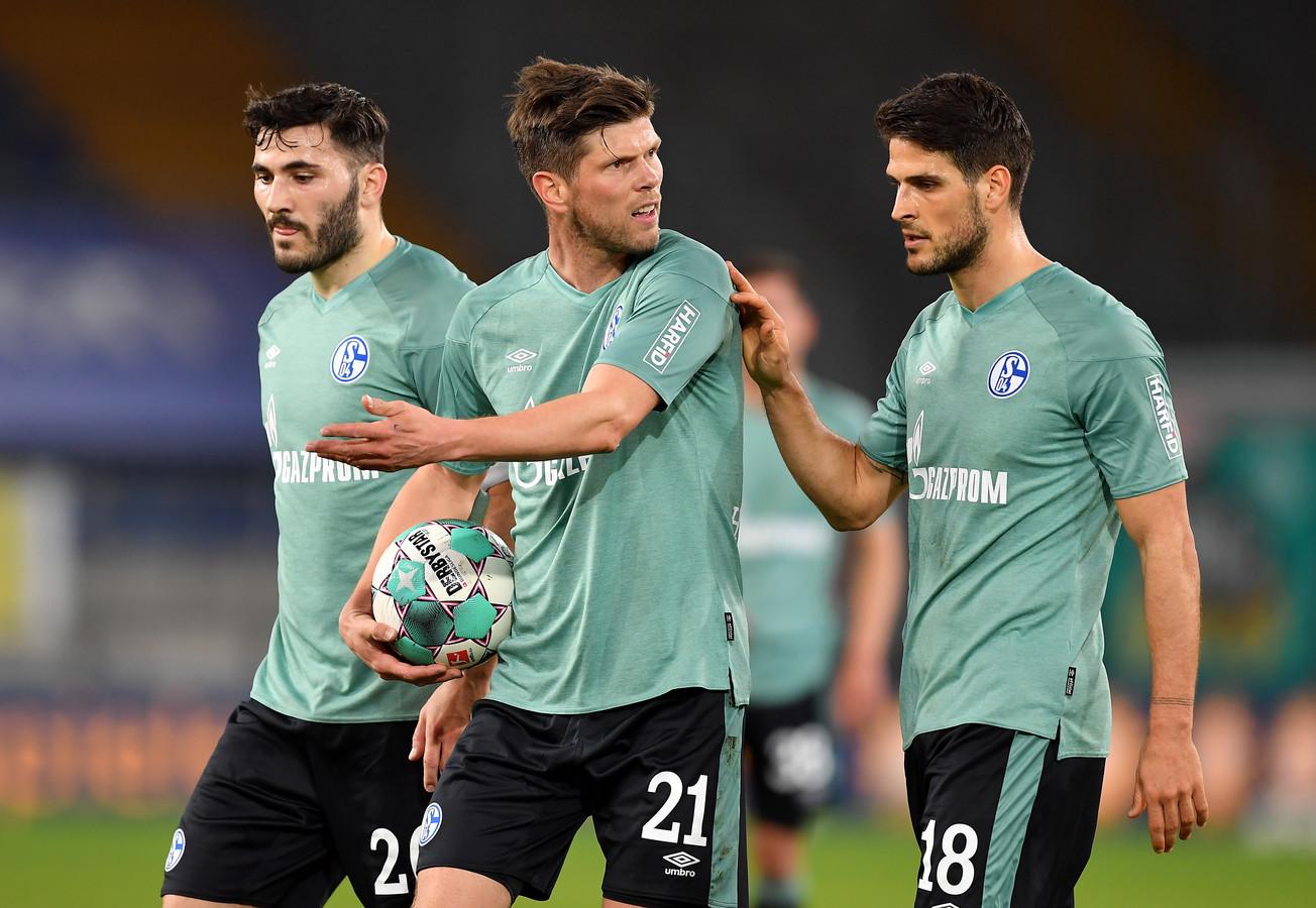 Klaas-Jan Huntelaar kon Schalke 04 niet behoeden van degradatie uit de Bundesliga.