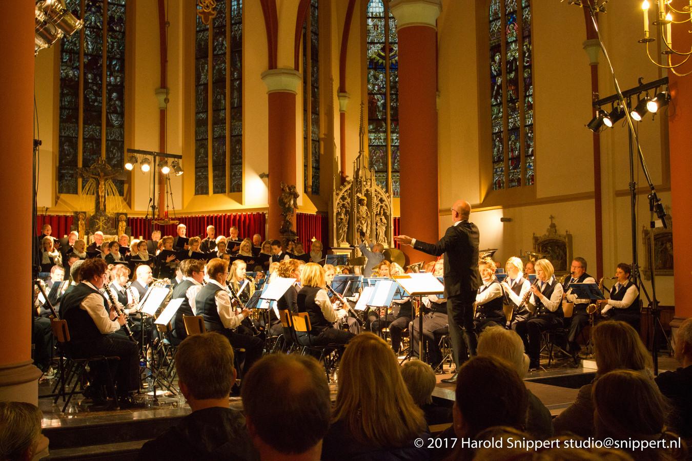 Het Passion-concert uit 2017 in Losser.