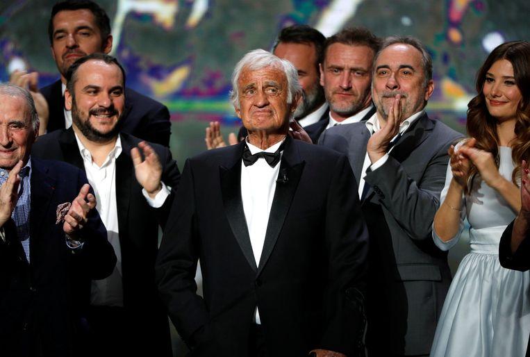 Als laureaat van een César d'honneur voor zijn hele carrière, in 2017. Beeld REUTERS