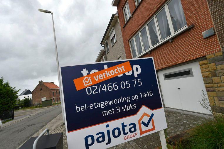 Ook dit jaar zijn de prijzen van de woningen in ons land verder gestegen. Beeld Photo News