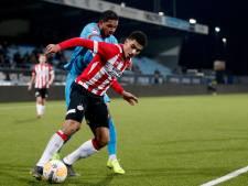 Jong PSV maakt het FC Twente net niet lastig genoeg