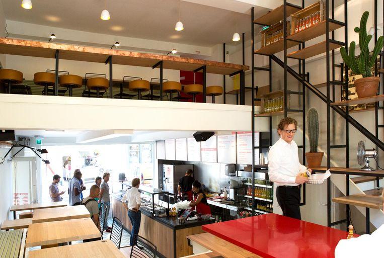 Bovendien is er altijd wel een plekje bij Salsa Shop. Beeld Sanne Zurné