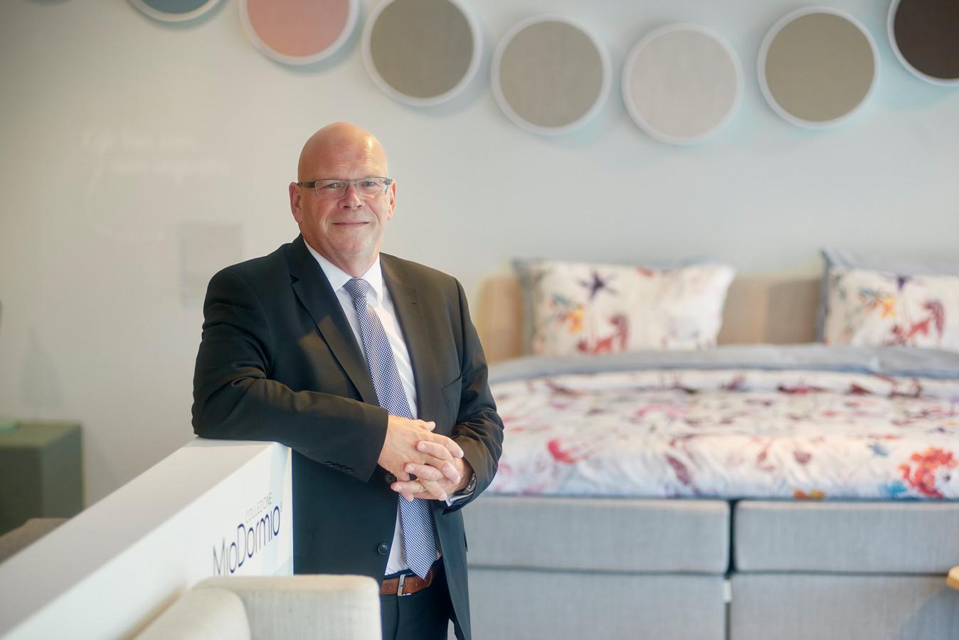 John Kruijssen, topman van Beter Bed in Uden.