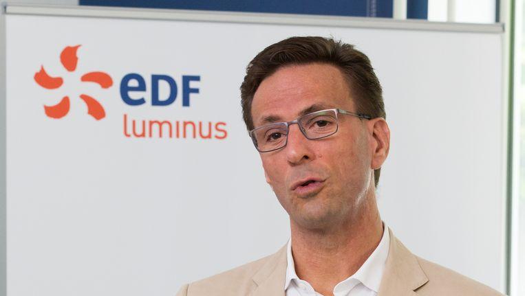 Gregoire Dallemagne, CEO van EDF Luminus. Beeld BELGA