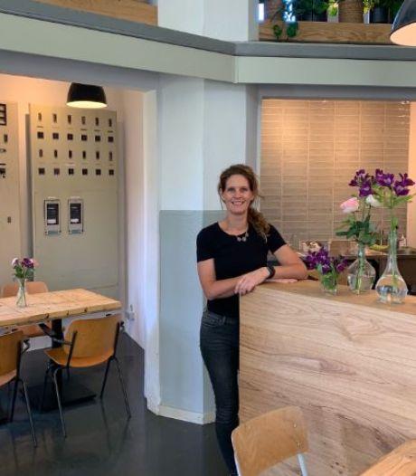 Op de plek waar ze van droomde, opende Miranda haar eigen parkcafé
