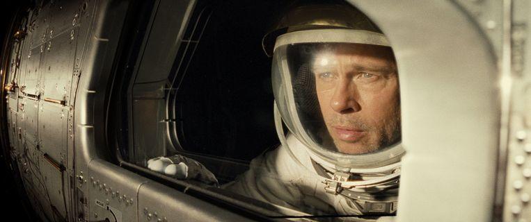 Brad Pitt in 'Ad Astra'..  Beeld Photo News