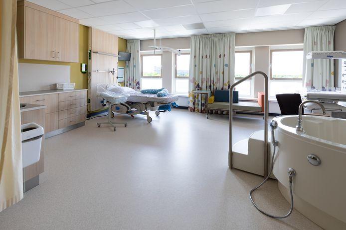 Verloskamer op afdeling Verloskunde Beatrix geboorte- en kindcentrum.