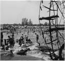 Waterplezier bij de Volmolen in 1960.