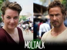 Margriet van der Linden en Chris Zegers presenteren MolTalk