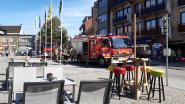 Keukenbrandje in Barz op Markt Aalter: zes brandweerwagens, maar alles snel onder controle