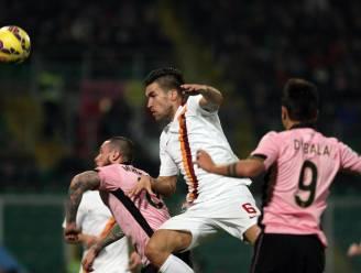 AS Roma verliest punten bij Palermo in kampioensrace