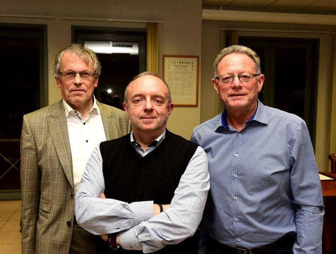 Henk, Daniel en Rudy wilden de burger dichter bij de politiek brengen.