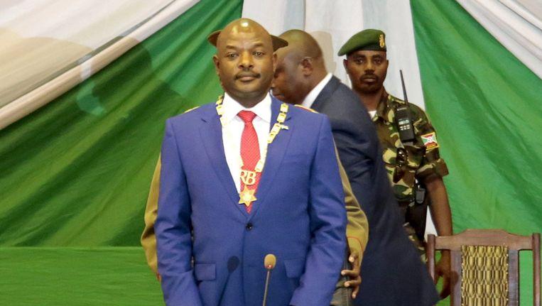 President Pierre Nkurunziza. Beeld REUTERS