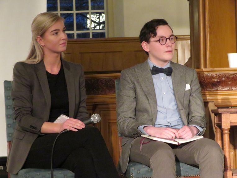 Norbart en Colenbrander: linkse intolerantie. Beeld