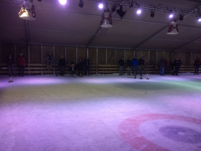 Curling op Winterland Oss 2017.