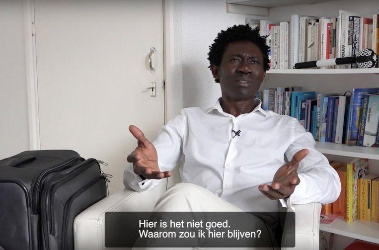 Uit 'The Last African in Europe' Beeld