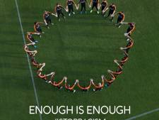Oranje maakt statement tegen racisme