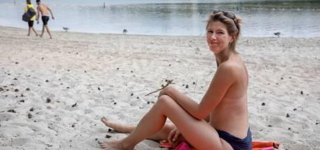 Vughtse verbaasd over verbod topless zonnen IJzeren Man: 'Ik héb niet eens een bikinitopje'