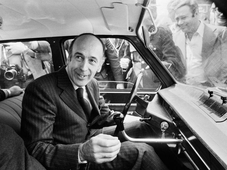 Giscard in 1974. Beeld Hollandse Hoogte / AFP