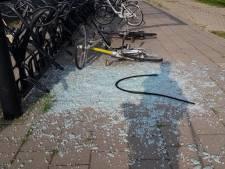 Ruiten aan diggelen, schade station Arnemuiden loopt op tot 20.000 euro. 'Daders krijgen twee weken de tijd om zich te melden'