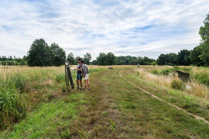 Er komen twee nieuwe wandelpaden in het Zammelsbroek.