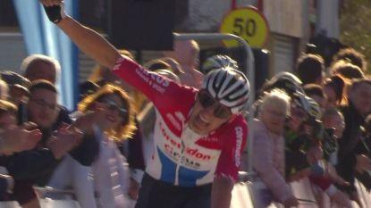 Vier dagen na zijn harde smak in Nokere Koerse wint Van der Poel GP Denain
