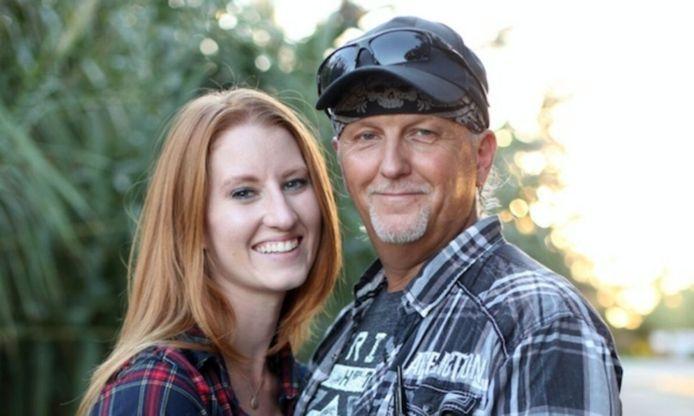 Jeff Lowe en z'n echtgenote Lauren.