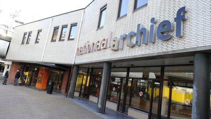 Het Nationaal Archief in Den Haag.