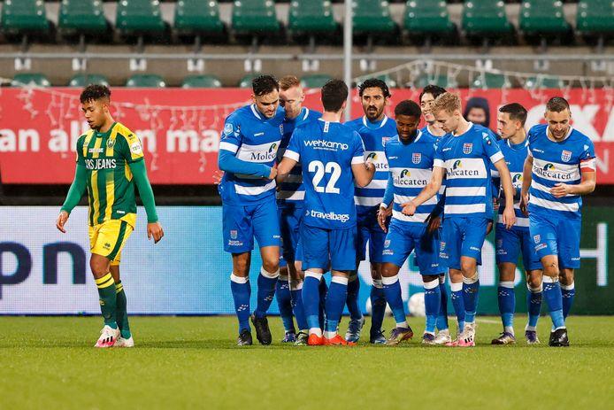 ADO Den Haag verliest in eigen huis van PEC Zwolle.
