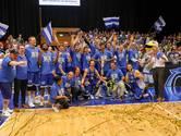 Landstede Basketbal uit Zwolle schrijft sportgeschiedenis met eerste landstitel