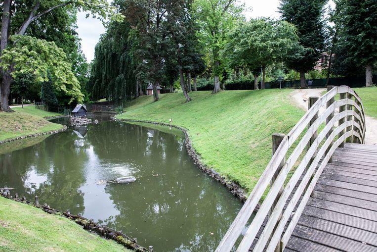 Het Stadspark in Sint-Truiden.