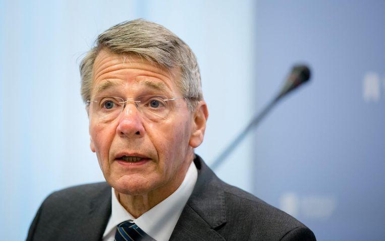 Piet Hein Donner stelde dat als twee derde van de kiezers de sharia zou willen invoeren,  de grondwet democratisch in die zin kan worden aangepast. Beeld anp
