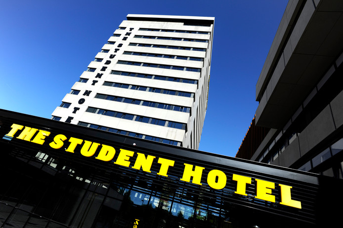 The Student Hotel aan de Wibautstraat in Amsterdam.