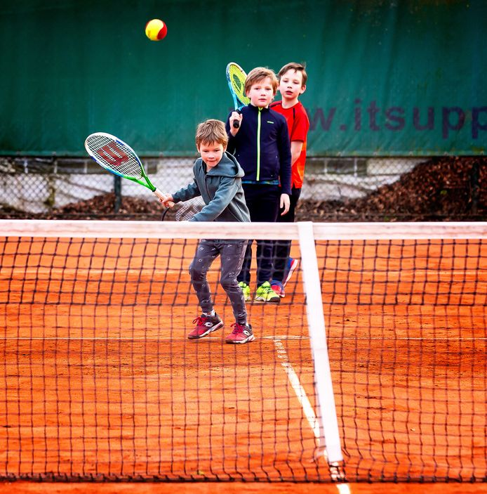 Bij Tennisclub Tilburg is het aantal jeugdleden in vijf jaar ruim verdubbeld.
