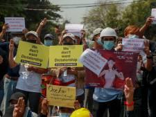 G7 na geweld Myanmar: 'Schieten op betogers is onacceptabel'