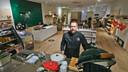 Chef David Selen van restaurant Improviste, hier in zijn Boutique in Kortrijk.
