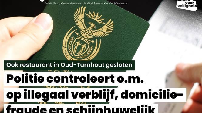 Politie sluit eetzaak in Oud-Turnhout: geen vergunning, illegale tewerkstelling en inbreuken op voedselveiligheid