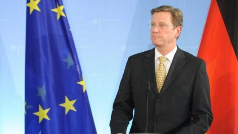 Guido Westerwelle. EPA Beeld
